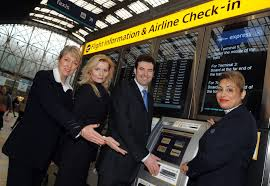 heathrow express turns london paddington station into an