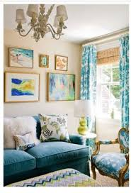 15 inspiring color blocked interiors colors peach and peacock blue