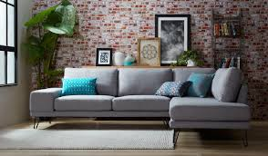 Corner Settees And Sofas Madison Corner Chaise Fabric Lounge Focus On Furniture
