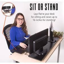 x elite pro xl 36 u201d sit stand standing desk converter stand steady