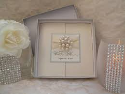 Wedding Invitations Box Brooch Boxed Invitations Large Brooch Invitations Couture