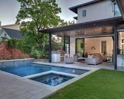 Open Patio Designs Contemporary Backyard Open Patio Small Pool Backyard Patio Designs