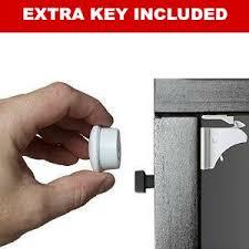 child proof cabinet locks without screws amazon com magnetic child safety cabinet locks 4 locks 2 keys