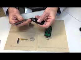2011 ford fusion battery replacement ford key fob intelligent access key battery replacement