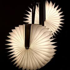 Paper Hanging Lamp Zbole Foldable Paper Book Hanging Wooden Lamp 33 54 Online
