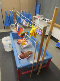 Sand Table Ideas Washing Doll Clothes And Hanging Them Up To Links To The