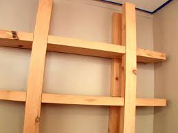 Wood For Shelves Making by How To Build Reclaimed Wood Shelves How Tos Diy