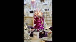 orchid centerpieces submerged purple orchid centerpieces