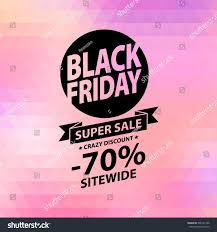 black friday pink sale black friday sale illustration advertising poster stock vector