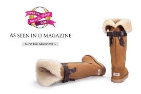 ugg s genevieve boot ugg australia one of oprah s favorite things the genevieve boot
