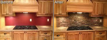 Kitchen Backsplash Pictures Unique Backsplash Ideas - Stacked stone veneer backsplash