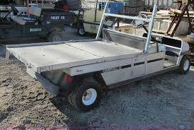 1996 club car carry all vi flatbed utility cart item f4844