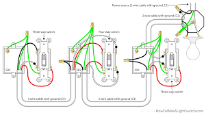 wiring diagrams 2 way light switch 3 dimmer noticeable two diagram