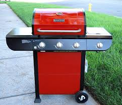 Brinkmann 2 Burner Gas Grill Review by Amazon Com Super Space 3 Burner And Side Burner Patio Garden