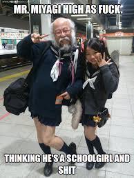Mr Miyagi Meme - mr miyagi melolz just for fun funny memes jokes troll pics