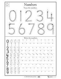 writing numbers for kindergarten 42 best teaching number writing images on preschool