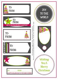 joyously domestic free printable christmas gift tags