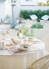 dinner host how to host an effortless spring outdoor dinner party almost makes