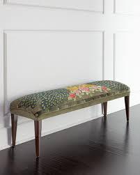 denison mirrored bench