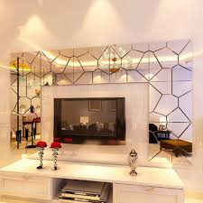 Mirror Wall Tiles by Ailier 28pcs Mirror Wall Tiles Environmental Protection Waterproof