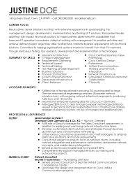good curriculum vitae samples cv template simple gsd saneme