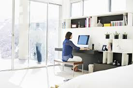 How To Organize A Small Desk by Set Up A Budget Home Office On A Shoestring