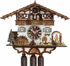 Chalet Style by Cuckoo Clock 8 Day Movement Chalet Style 36cm By Hönes 8664t Zenzi