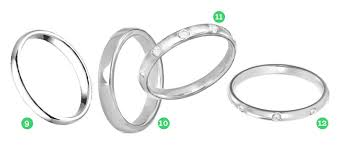 wedding band types types of wedding bands wedding bands wedding ideas and inspirations