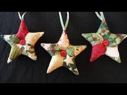 how to make patchwork ornaments for these are