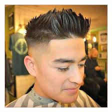 haircuts short for men along with high fade with thick brush up