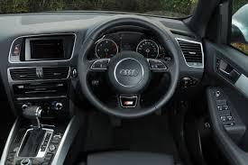 Audi Q5 Inside Audi Q5 Tdi Pictures Audi Q5 Front Tracking Auto Express