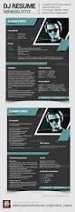 colorful resume templates minimalistix dj resume press kit press kits resume cv and minimalistix dj resume press kit