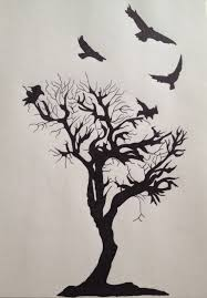 raven tree tattoo pictures to pin on pinterest tattooskid