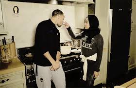 kitchen gif stephen and ayesha curry relationship goals popsugar australia