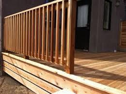 Ideas For Deck Handrail Designs Deck Fence Ideas
