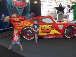 cars characters mater meet the stars of cars u2013 life size lightning mcqueen and mater to