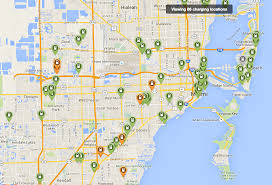 Miami Design District Map by A Brief Comparison Of Ev Charging Availability City To City