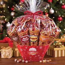 popcorn gift baskets classic 12 cone popcorn gift basket popcornopolis