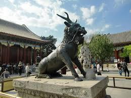 qilin statue panoramio photo of qilin statue