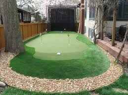 backyard putting green ideas home outdoor decoration