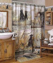 Cabin Shower Curtains Shower Curtains Log Cabin Shower Curtains Bathroom