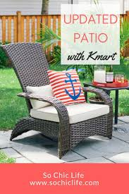 Kmart Patio Furniture Sets - best 25 kmart patio furniture ideas on pinterest cheap