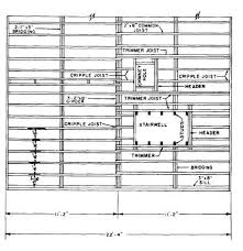 plan concrete figure 10 19 exle of a structural floor framing plan for a wood