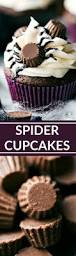 easy spider cupcakes recipe halloween spider and videos