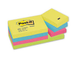 comment mettre des post it sur le bureau windows 7 blocs de 100 notes repositionnables post it coloris assortis 3 8 x
