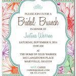 bridal brunch invitations template brunch invitations templates 20 formal invitation templates free