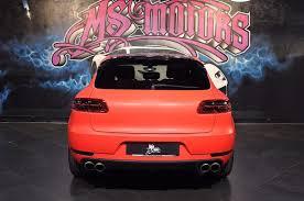 Porsche Macan Red - piero ms motors on twitter