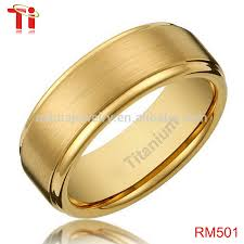 wedding ring models gold ring designs 8mm men s titanium gold plated ring