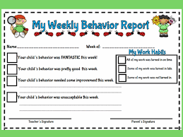 behaviour report template 29 images of behavior reports template for teachers infovia net