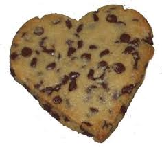 heart shaped cookies heart shaped chocolate chip cookies cookie madness